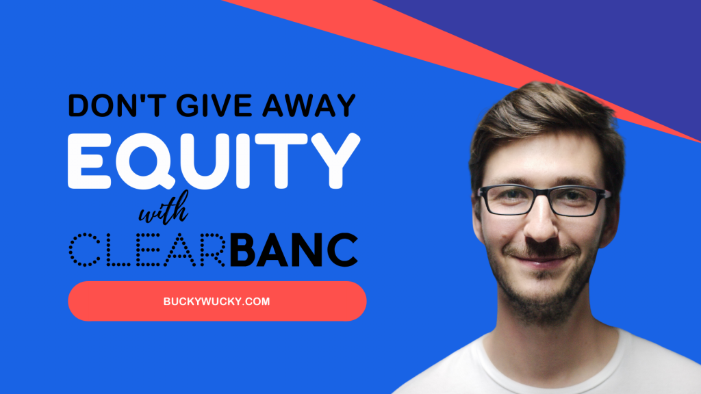 Don't Give Away Equity